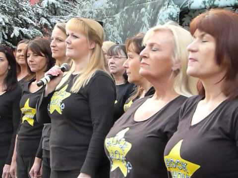 greater manchester rock choir at ideal home show 2015 youtube
