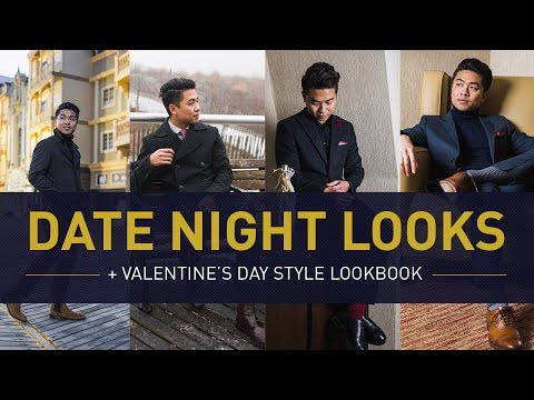 DATE NIGHT OUTFIT IDEAS For Men | Valentine's Day Winter Style Lookbook