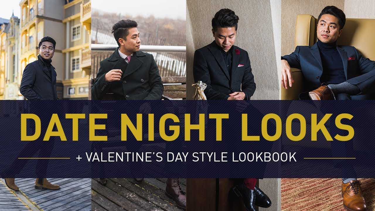 Date Night Outfit Ideas For Men Valentines Day Winter Style