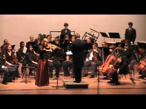 Concerto for Violin and Orchestra   Gian Carlo Menotti