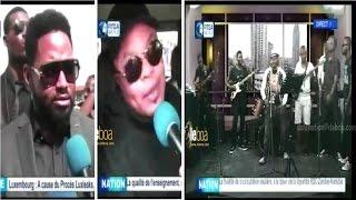 JB Mpiana, Ferre GOLA na Tony NKOKO ba rendre hommage na Papa WEMBA
