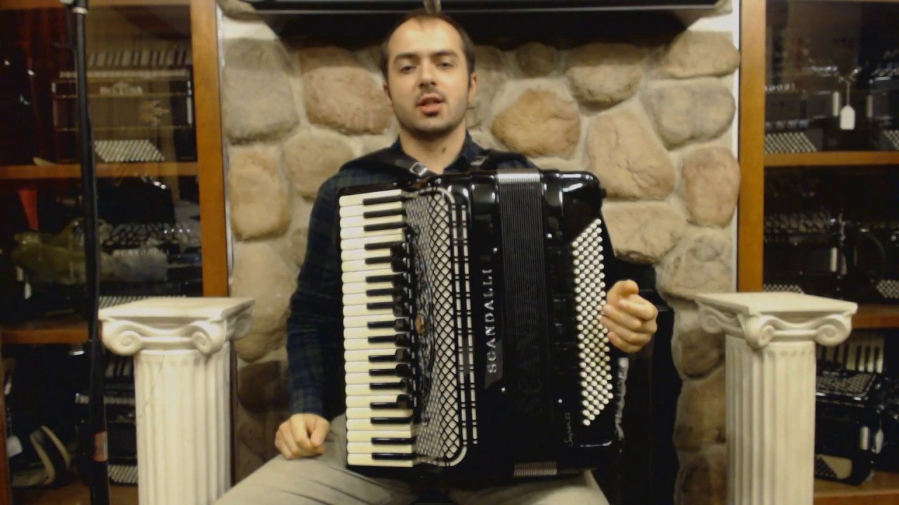 Technical Exercises for Piano Accordion - Lesson 1 - Major Scales, Chords,  and Arpeggios