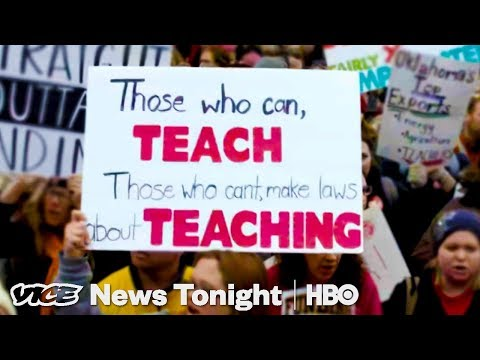 What It Was Like At The Oklahoma State Capitol During The Teachers' Walkout (HBO)