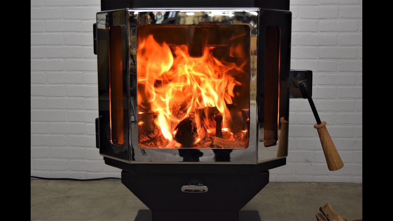 Catalyst: Modern, Efficient Wood Burning Stove | MF Fire