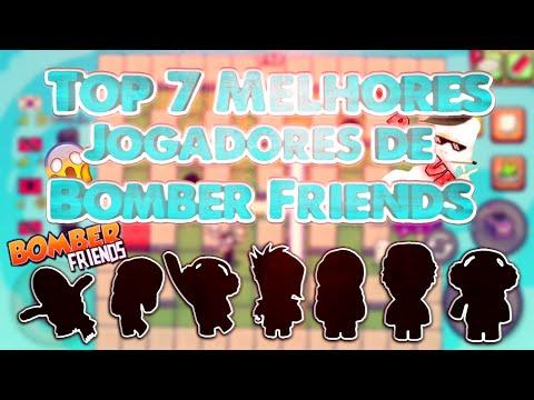 BOMBER FRIENDS - TOP 7 MELHORES JOGADORES ( PT-BR )