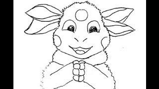 Luntik moon bee. How to draw a easy? Лунтик. Как просто нарисовать?(Рисовать это очень интересно и очень просто. Любимый персонаж мультфильма может оказаться у вас на листе...., 2013-08-23T06:52:47.000Z)