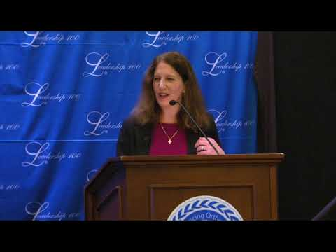LEADERSHIP 100 Address  Sylvia Mathews Burwell, President, American University