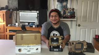 PIP-BOY DELUXE BLUETOOTH EDITION UNBOXING