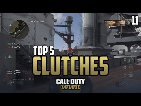 COD WWII: TOP 5 CLUTCHES OF THE WEEK #11 - Call of Duty World War 2 thumbnail