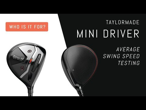 who-is-the-mini-driver-for?-average-swing-speed-testing---taylormade-original-one-mini-driver