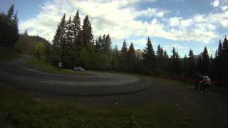 eric brunson rallye du mont blanc 2011 es 1