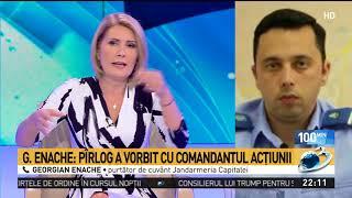 Jandarmeria, lămuriri cu privire la prezența procurorului militar la protestele din Piața Victori