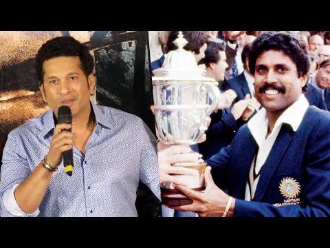 Sachin Tendulkar SHARES Memories Of WORLD CUP 1983   Sachin A Billion Dreams Trailer Launch