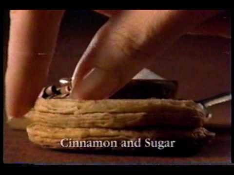 Pillsbury Advert Cinnamon And Sugar Hungry Jack Biscuits 1997
