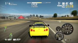 NFS SHIFT 2 UNLEASHED - Nissan Skyline GTR R34 - Laguna Seca - 1080p HD