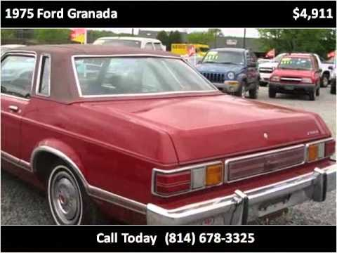 1975 Ford Granada Used Cars Cranberry PA - YouTube