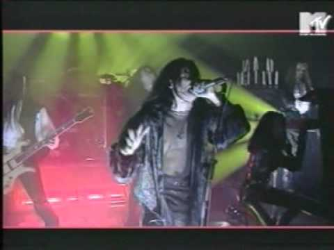 Cradle Of Filth live on MTV