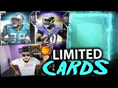 CRAZY PULL!! LIMITED TIME CARDS   MADDEN 19 PACK OPENING