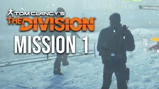 The Division RAW GAMEPLAY- Mission 1 (Madison Field Hospital) Hard Mode