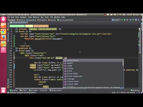 Aula 22.2 - AngularJS e AJAX - Escopo e Controller - App Engine e Python