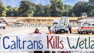 Pomo Indians, AIM and Environmentalist Occupy Caltrans