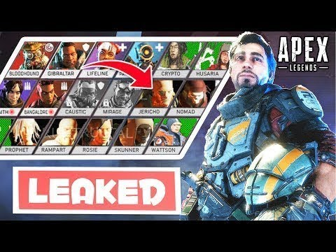 10 New Legends Leaked In Apex Apex Legends Wtf Funny Moments 17