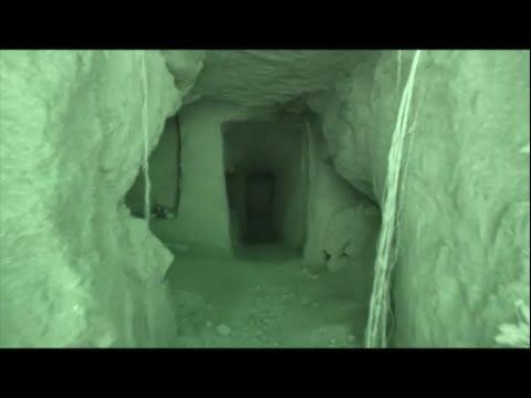 硫黄島 最後の突撃壕 赤外線撮影 Iwo Jima The last attack cave SaigonototugekiGou IR
