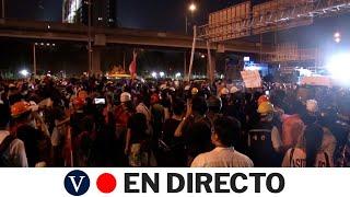 DIRECTO: Protestas contra el gobierno en Tailandia