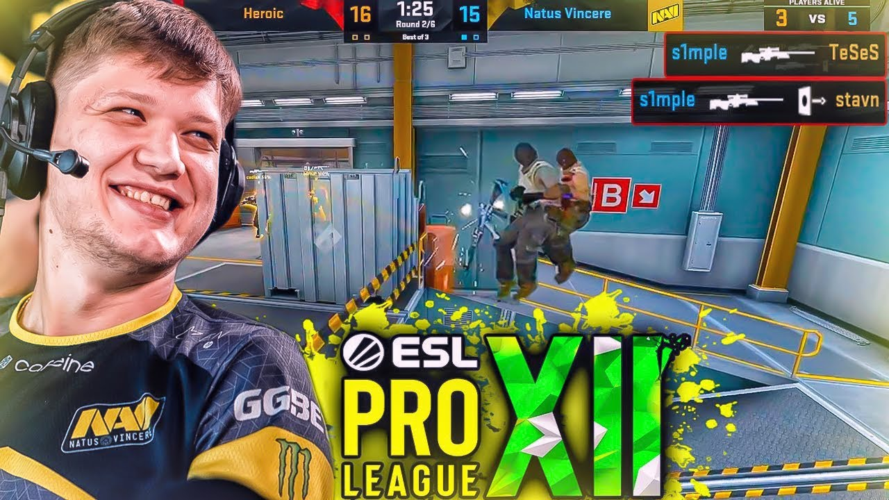 ЛУЧШИЕ МОМЕНТЫ CS:GO ESL Pro League 12 - №2
