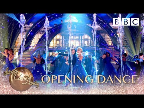 The competition begins! - BBC Strictly 2018