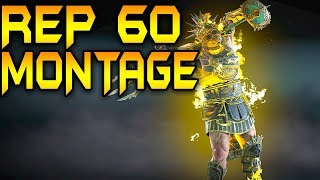 For Honor: A REPUTATION 60 GLADIATOR MONTAGE!