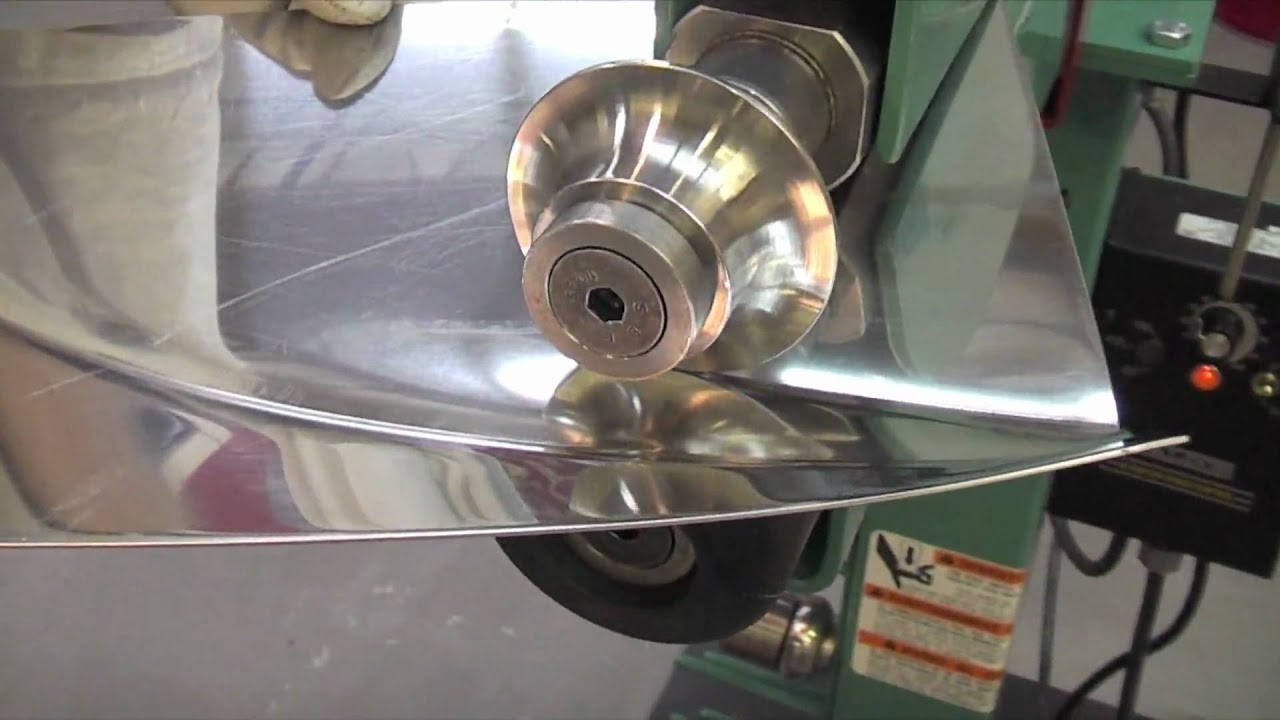 Lazze Metal Shaping Stainless Steel Panel In The Bead