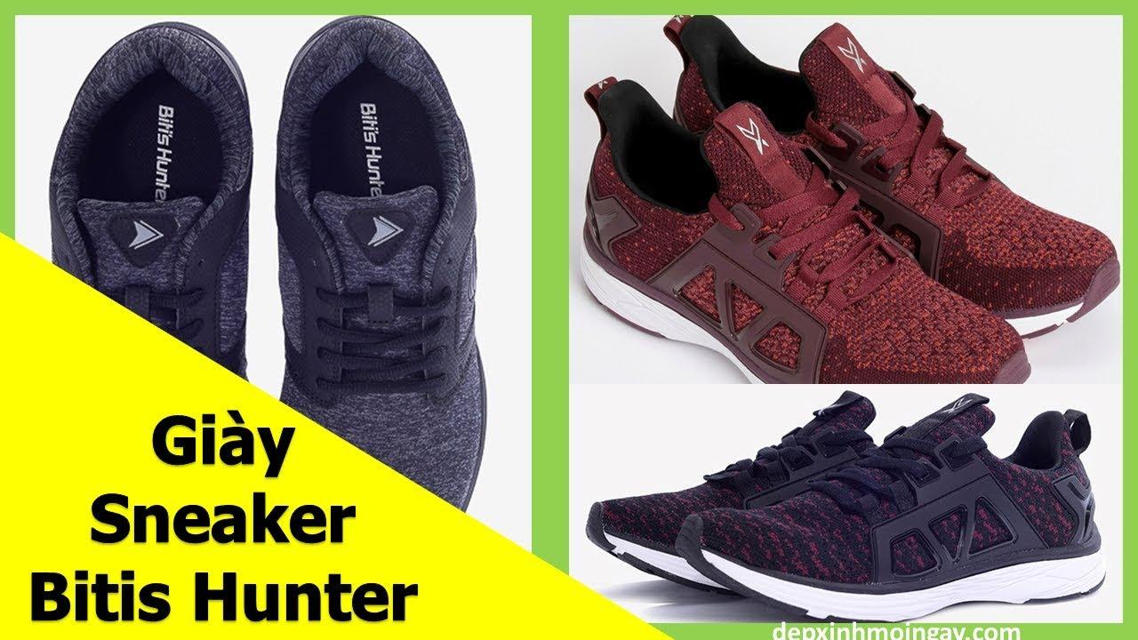 Top 10 Mẫu Giày Sneaker Nam Đẹp | Giày Thể Thao Nam Bitis Hunter Phần 8