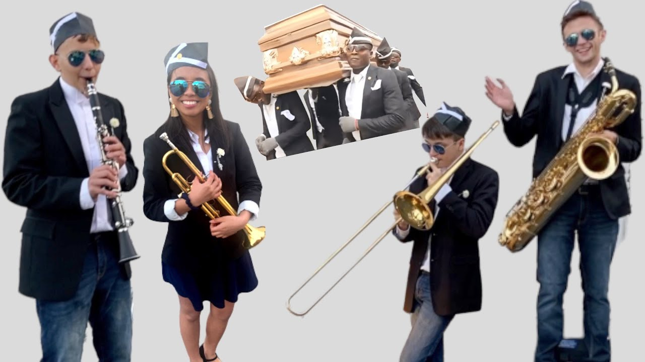 """When """"Band Kids"""" try the Coffin Dance..."""