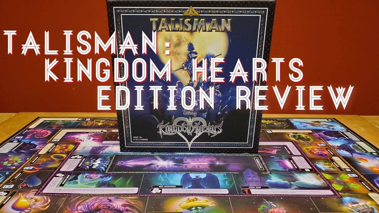 Talisman Kingdom Hearts Edition Review Youtube