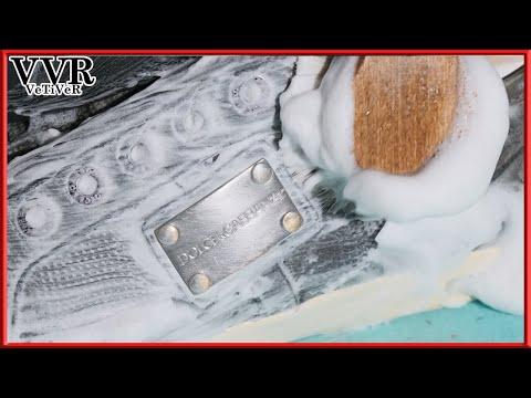 [ASMR] 'Clean & Restore' 'Dolce&Gabbana' Plaque Gray Sneakers  -4k