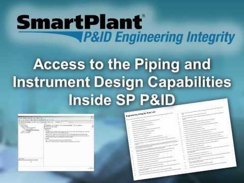 SmartPlant P&ID Engineering Integrity -- Intergraph PP&M