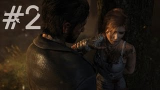 Tomb Raider 2013 Gameplay Walkthrough Part 2 - No Russian Wolves (PC)