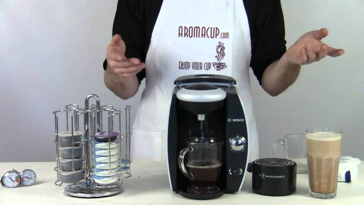 Bosch TassimoT45 (Suprema) Review plus FAQ about Tassimo Coffee Maker - YouTube
