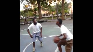 Jay the barber vs. Harlem girl Shakey Game 1