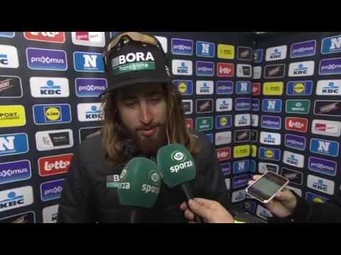 Peter Sagan - post-race interview - Omloop Het Nieuwsblad 2017
