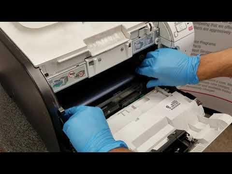 How To Remove and Replace HP M351 M451 M375 M475 M476 CP2025 CM2320 Transfer Belt RM1-4852