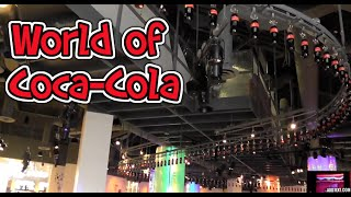 Gopro:INSIDE World of Coca Cola Museum Atlanta Georgia HD