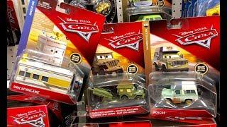Disney Cars 3 Toys Hunt - Jurassic World Fallen Kingdom Toys Hunt - Sarge with Cannon & Van Scanline