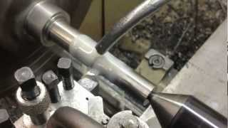 Harrison M300 Lathe Making a Morris Minor Negative Camber Eye Bolt