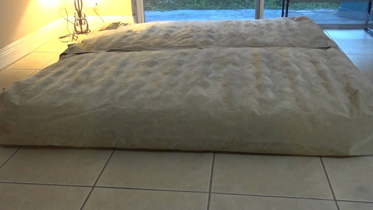 Ratings On Mattresses >> Sofina King Size Air Bed Converts to 2 Twin Size Beds - YouTube