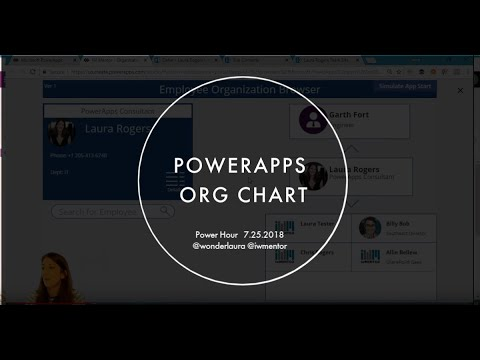 SharePoint Power Hour: PowerApps Org Chart