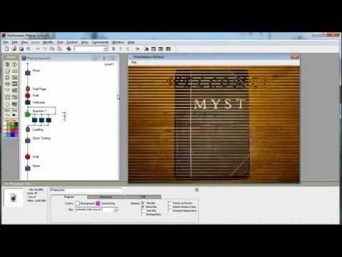 Authorware - Creating & Playing Short Quiz