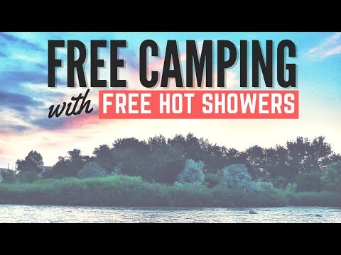 FREE CAMPING with FREE HOT SHOWERS 🚿⛺ Riverside City Park in Douglas, Wyoming 🚐🇺🇸 RV LIVING
