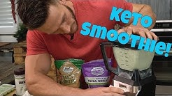 Low Carb Keto Smoothie: Boost Hormones & Increase Libido